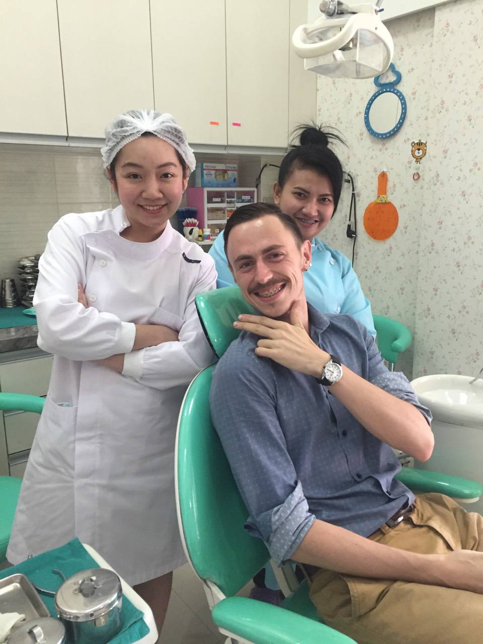 Dentists just being cool.. :)